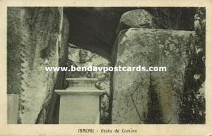 china, MACAO MACAU, Gruta de Camoes, Luis de Camoes Cave (1910s)