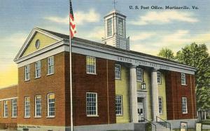 VA - Martinsville. U S Post Office