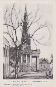 South Carolina Charleston St Philips Church