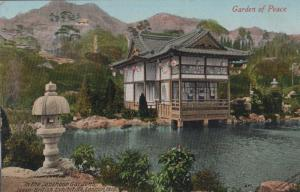 Japanese Garden Of Peace 1910 London Franco + Official Exhibition Postmark