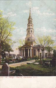 South Carolina Charleston St Philip's Church and Cemetery