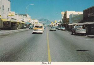 Main Street , OLIVER , B.C. , Canada , 80-90s
