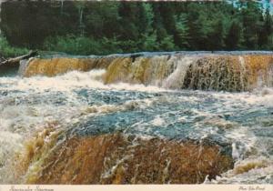 Michigan Tahquamenon Falls State Park Upper & Lower Falls Of Tahquamenon River