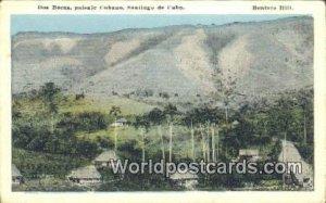Dos Bocas, Paisaje Cubano Santiago de Cuba Unused