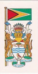 Brooke Bond Tea Vintage Trade Card Flags &  Emblkems Of The World No 23 Gu...