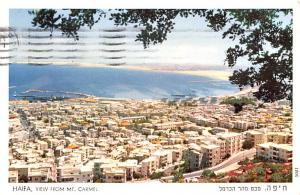 Haifa Israel View from Mt Carmel Haifa View from Mt Carmel