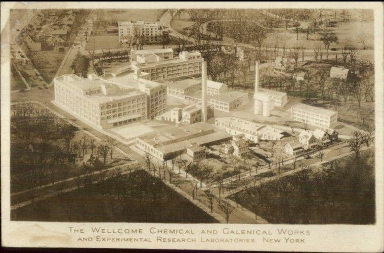 Tuckahoe NY Wellcome Chemical & Galenical Works Photo Photograph