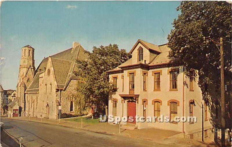 Presbyterian Church & the Church School Building Hagerstown MD Unused