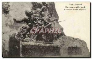 Old Postcard Old Armand Monument 152nd Regiment Army