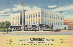 COLUMBUS , Georgia , 30-40s ; Schwobilt Clothes Store