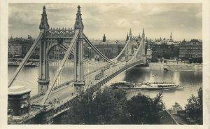 Postkarte Budapest Pont Elisabeth