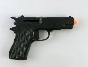 Matsushiro Toy Co Tiger 7 Plastic Gun Japan Tokyo Trademark Working Vtg Replica