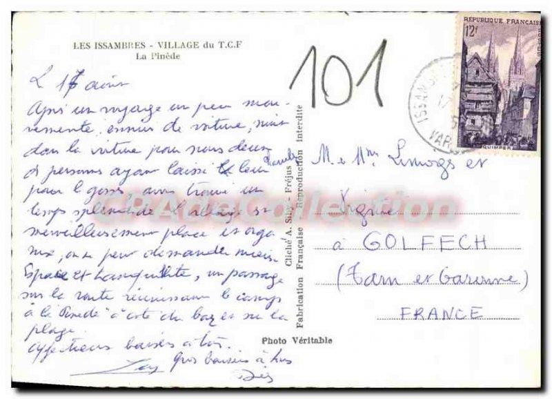 Modern Postcard Les Issambres Village T C F Pinede