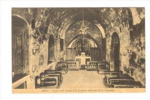ASSISI , ITALY , 00-10s   Interno della Chiesa di S. Damiano restaurata da S....