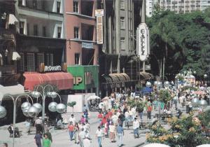 Curitiba Vista Parcial da, Av. Luz Xavier - (Rua das Flores) Estado do Parana...