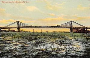 Williamsburgh Bridge New York City NY Unused