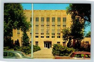 Mitchell SD, Davison County Courthouse, South Dakota c1950 Postcard