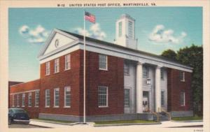 Post Office Martinsville Virginia