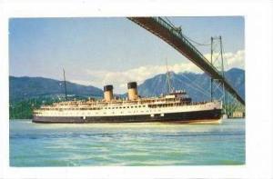 C.P.R. Princess Patricia, Steamer, 1940-1960s