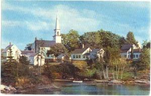 Old Mill Cove, East Boothbay, Maine, ME, 1965 Chrome