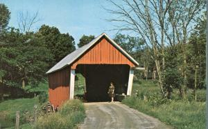 Old Covered Bridge at East Randolph VT, Vermont