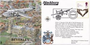 Blackburn Beverley Aircraft Historic Flight Plane First Day Cover
