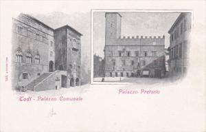 Todi , province of Perugia , Italy , 00-10s ; Palazzo Pretorio & Comunale