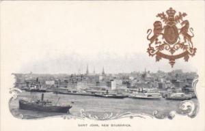 Canada New Brunswick Saint John Harbor View Private Mailing Card