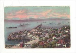 View Of Rosia Bay, Gibraltar, United Kingdom, 1900-1910s