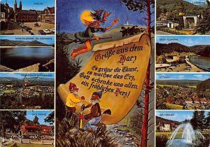 Gruesse aus dem Harz multiviews Altenau Bad Grund Goslar Harzburg Wildemann