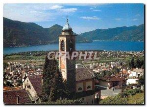 Postcard Modern IT Orselina sopra Locarno Chiesa Santa Maria Assunta