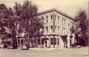 THE ROGAN HOTEL C.H. GARMAN, PROP. WELLSTON, OH