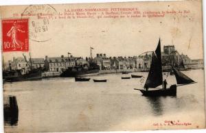 CPA BARFLEUR - La Port a Marée Haute - A BARFLEUR l'année 1120.. (246092)