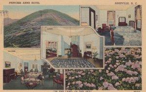 ASHEVILLE , North Carolina , 1953 ; Princess Anne Hotel