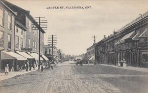 CALEDONIA , Ontario, Canada, 1900-10s ; Argyle Street