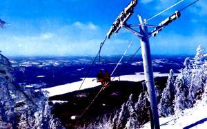 Canada - Quebec, Mont Tremblant (Aerial Lift)