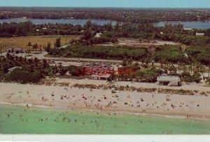 1963 AERIAL VIEW OF LANTANA BEACH, FL