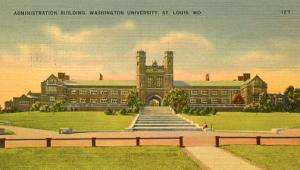 MO - St. Louis, Washington University Administration Building