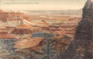 Grand Canyon Arizona Looking East From Grand View Antique Postcard K19686