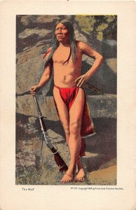 F66/ Native American Indian Postcard c1910 The Wolf Huld 11