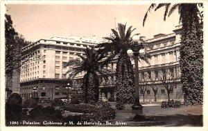Palacios, Gobierno y M de Hacienda Buenos Aires Argentina Unused