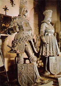 Innsbruck Hofkirche Bronzefiguren Rudolf Philipp der Schoene Statues