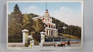 Vintage Postcard The Scala Santa  Ste. Anne de Beaupre, Canada
