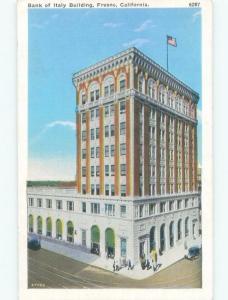 Linen BANK BUILDING Fresno California CA E4919