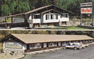 Canyon Alpine Motel, 3 miles North of BOSTON BAR , B.C. , Canada , PU-1968