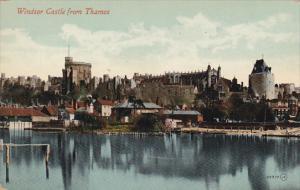 England Windsor Castle From Thames