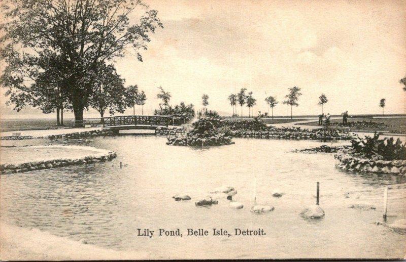 MIchigan Detroit Belle Isle Lily Pond