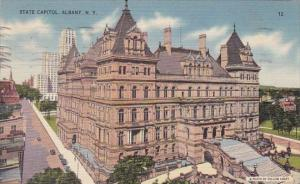New York Albany State Capitol 1946