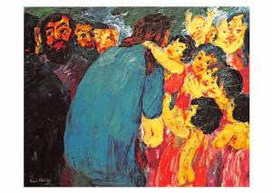 Emil Nolde - Christ Among the Children