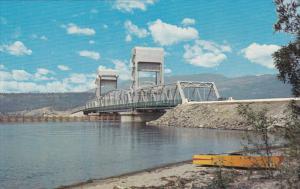 Okanagan Lake Bridge , KELOWNA , B.C., Canada , 50-60s